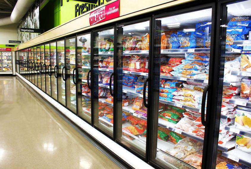 冷凍食品棚